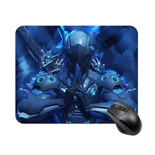 VNOS Gaming Mouse Pad Ov-Er-Wat-Ch - Genji, Non-Slip Rubber Base Mouse Mat for Laptop, Computer, PC, Office