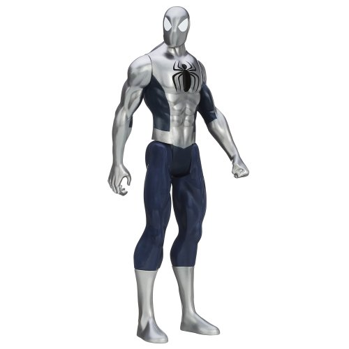 Marvel Ultimate Spider-Man Titan Hero Series Armored Spider-Man Figure...