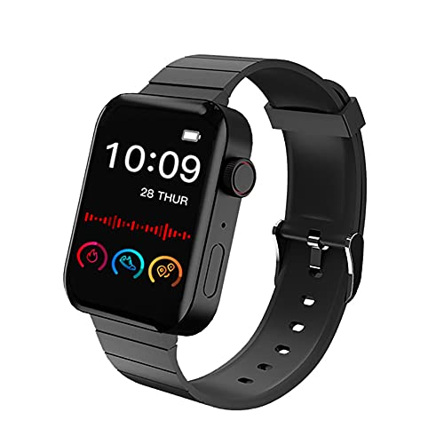 XTHAILIANG Reloj Inteligente Hombres Mujeres Niños, Smartwatch con Pulsómetro y Monitor de...