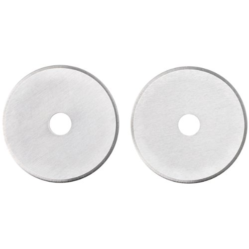 Fiskars 95417097J Straight Rotary Replacement Blades, 28mm, 2 Pack,stainless steel