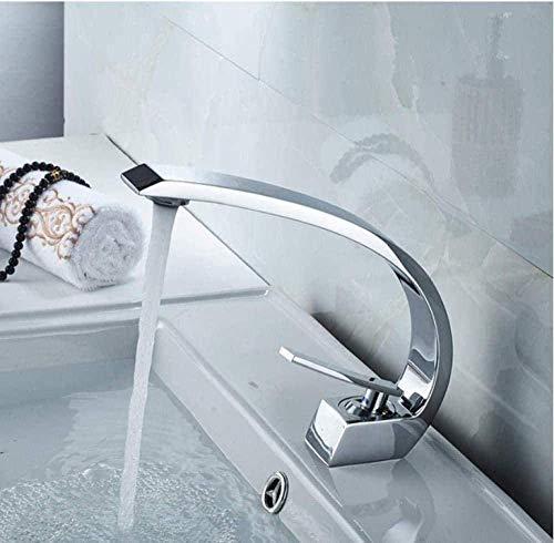 LYDREAM Baño Baño Fregadero Agua Tapón Tapón de latón CHORMOMO Tanque DE Agua Flujo MEDICIDO Agua Caliente fría,Silver