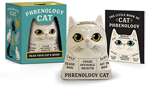 Phrenology Cat: Read Your Cat's Mind! (Rp Minis)