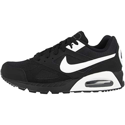 Nike Herren Air Max Ivo Laufschuhe, Negro / Blanco / Negro (Black / White-Black), 44 1/2 EU