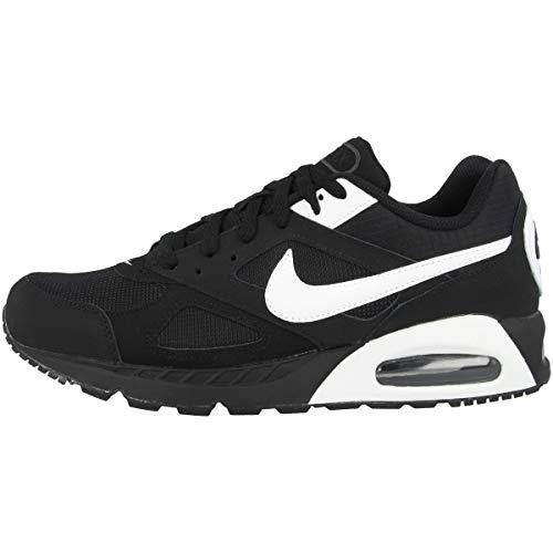Nike Herren Air Max Ivo Turnschuhe, Negro / Blanco / Negro (Black / White-Black), 42 EU