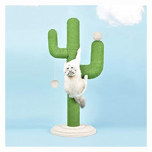 LPing Tiragraffi Gatti,Elegante tiragraffi per Gatti a Forma di Cactus tiragraffi per Gattini Albero da Gatto,con Palla Giocattolo per Gatti,Prodotti per Animali Domestici