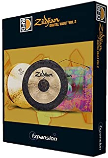 FXPANSION (エフエックスパンション) BFD3/2用拡張音源 BFD3/2 Expansion Pack: Zildjian Digital Vault vol.2