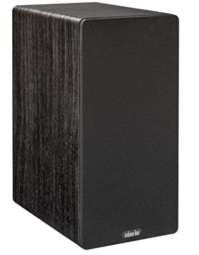 Coppia diffusori da scaffale 2 Vie Bass-Reflex frontale Amplificazione suggerita da 30 a 120 Watt Woofer 160 mm. Tweeter 26 mm. Dimensioni: L 180 x A 362 x P 275 mm. Finitura Rovere Nero