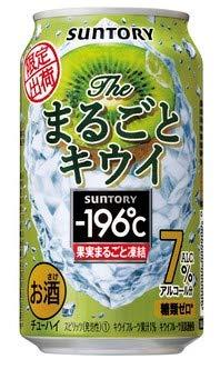 サントリー -196℃ ザ・まるごとキウイ 350ml×12本