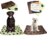PETS ALL AROUND Washable Pee Pads For Dogs (2 Pack) Super Absorbent, Anti-Tracking Dryness | Whelping, Incontinence, Potty | Indoor Floor and Crate Protection