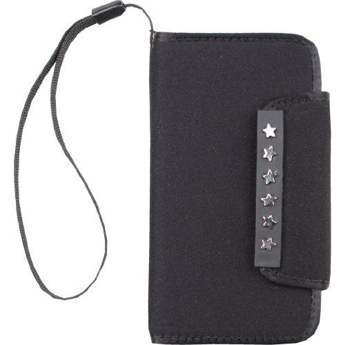 Zunblock, Borsello da Cintura per iPhone 5/5s iPhone 55s, Nero (Black Silver), 13 cm
