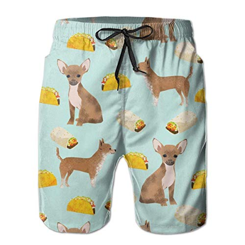 Hungry Pig Wants To Eat The Hamburg Swim Trunks Quick Dry Beach Board Shorts Men Pants Household Shorts