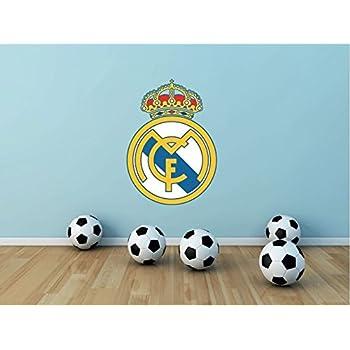 Stickasticker Pegatina del f/útbol Real de Madrid 60/cm