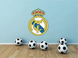 lunaprint Real Madrid FC Spain Soccer Football Sport Home Decor Art Wall Vinyl Sticker 63 x 45 cm
