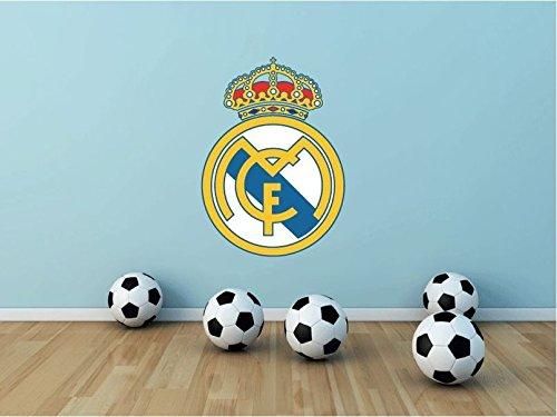 lunaprint Real Madrid FC Spain Soccer Football Sport Home Decor Art Wall Vinyl Sticker 63 x 45 cm