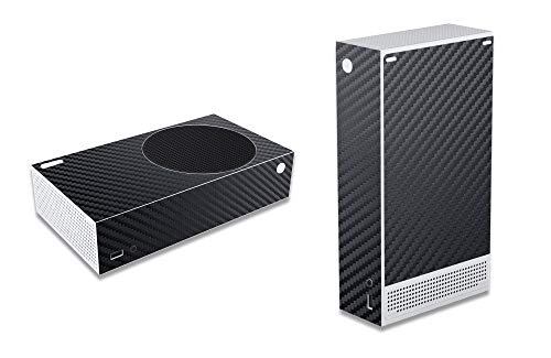 AGA Gaming Skin für Xbox Series S, Design Folie Aufkleber Sticker Schutzfolie, Kompatibles Zubehör für ihre Microsoft Spielekonsole (Series S, Carbon)
