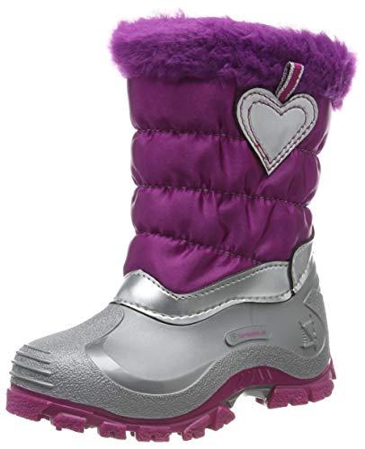 Spirale Kinder Mädchen Winterstiefel Snowboots 100% Cadmium Nickel Blei FREI, Farbe:Rosa, Größe:31