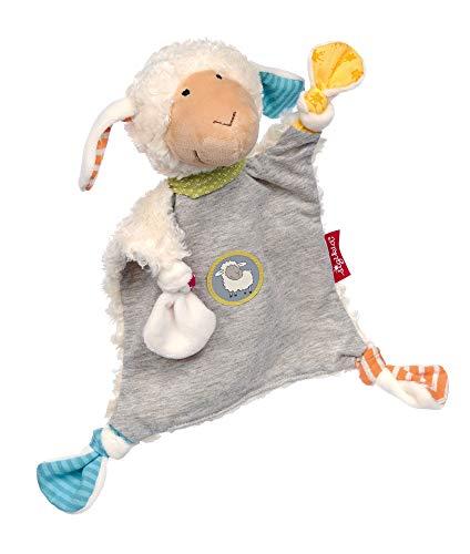 Sigikid Mädchen und Jungen, Schnuffeltuch Boller Schäfle, Babyspielzeug, empfohlen ab 0 Monaten, mehrfarbig, 39240