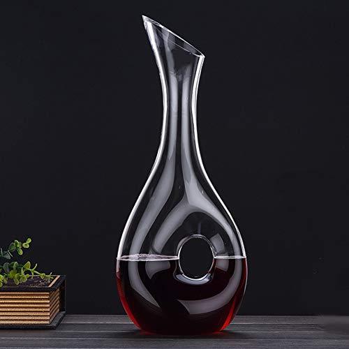Qualitätsweinkaraffe, Design Schnecke Stil Karaffe Rotwein Karaffe 1100ml Bleifreier Glaskaraffe Superior-Wein-Belüftungsanlage