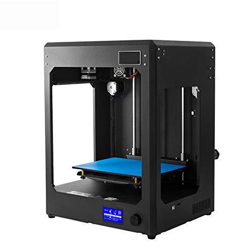 Imprimante de bureau 3D Petit modèle stéréo imprimante Cabinet type Home Office à double usage imprimante à deux couleurs DIY imprimante 3D avec la construction Plate Surface Une machine à trois usage