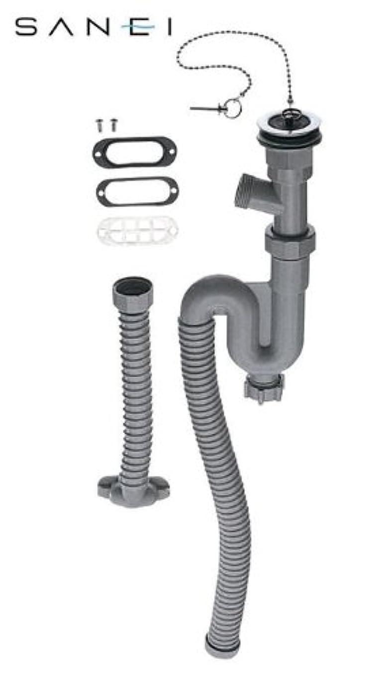 可塑性ボーナス統合三栄水栓 SANEI ホーロー用トラップホース PH787-32