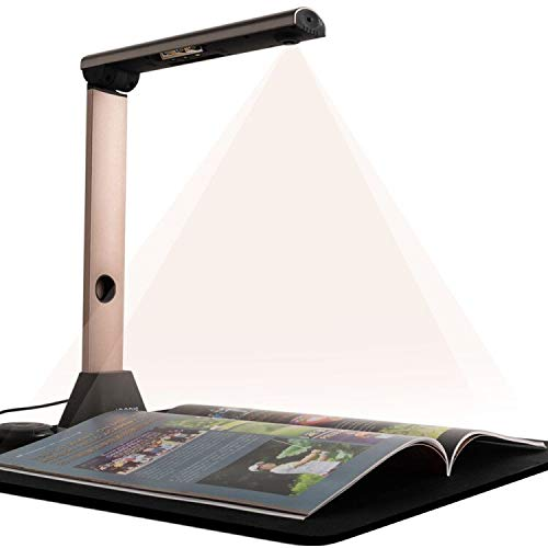iCODIS X7 Book & Document Scanner, 15MP High Definition Portable Document Camera, A3 Scanner Auto-Flatten & Deskew and OCR for Office and Education Presentation, Not Compatible with Mac
