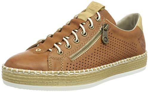 Rieker L78S6, Zapatillas Mujer, marrón, 36 EU