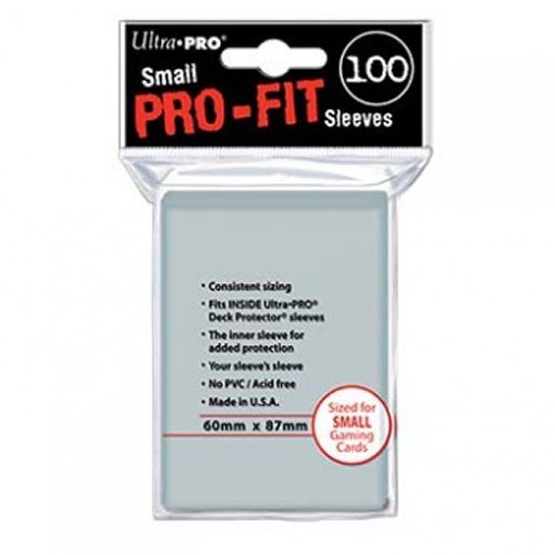 Ultra PRO Card Sleeves Mini PRO-Fit Clear (100) Ultra PRO