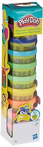 Hasbro Play-Doh 22037EU6 - Party Turm Knete, für fantasievolles und kreatives Spielen