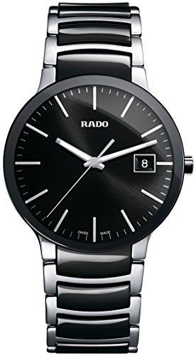 Rado R30934162 - Reloj para Hombres, Correa de Acero Inoxidable Color Negro