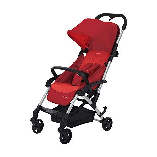 Bébé Confort LAIKA 'Vivid Red' - Cochecito super urbano, ultracompacto y ligero, homologado para viajar, desde 0 meses hasta 3,5 años, color rojo