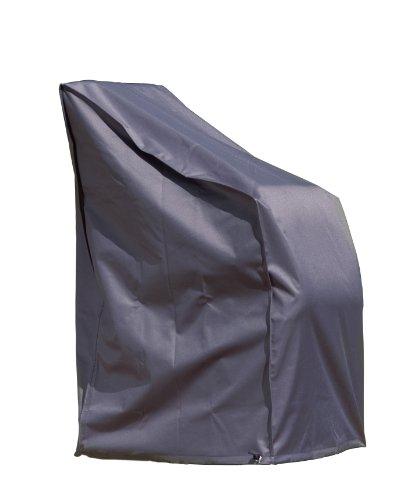 Wehncke Schutzhülle Deluxe für Stapel und Relaxstühle, anthrazit, 65 x 65 x 120/80 (H) cm, 15185