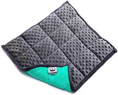 Red Rocks Weighted Lap Pad for Kids Grey 21 x 1 x 19 inches 4 6 pounds Classroom and Special product image