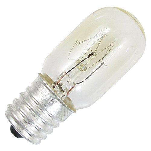TOOGOO(R) Bombilla de Lampara de refrigerador de echufe de E17 Lampara de luz blanca calida 220V 15W