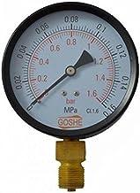 "100mm 4 bar manómetro de entrada lateral medidor de presión m20x1,5 + 1/2 ""reducción bsp"