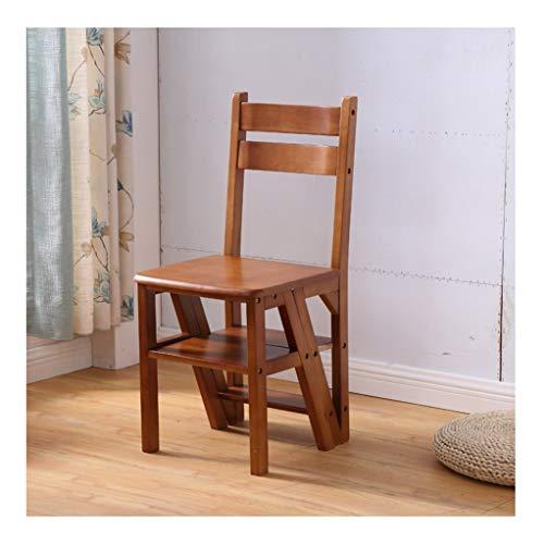 Trapladder 4 stapen, lichtgewicht ladder en stoel kan naar believen worden ingeschakeld, multifunctionele bibliotheek in de keuken of op kantoor