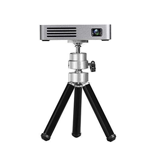 NCBH Mini-projector, ingebouwde accu, draagbaar, Android Smart projector, WiFi-projector, geschikt voor domestisch kantoor en reizen in de buitenlucht