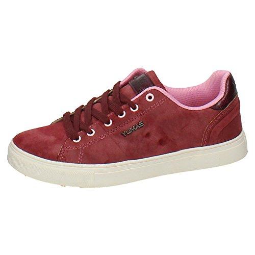 YUMAS 39380 Zapatillas DE IRAYA Mujer Deportivos Rosa 36