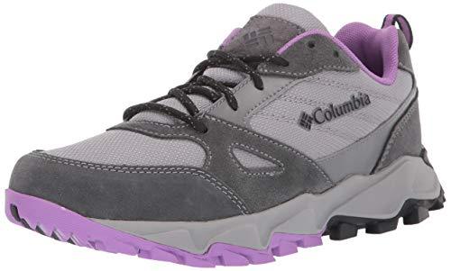 Columbia Women's IVO Trail Hiking Shoe, ti Titanium, Crown Jewel, 9 Regular US