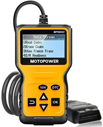 MOTOPOWER MP69033 Car OBD2 Scanner Code Reader Engine Fault Code Reader Scanner CAN Diagnostic product image