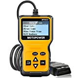 MOTOPOWER MP69033 OBD2 Scanner Universal Car Engine Fault Code Reader, CAN Diagnostic Scan Tool for All OBD II Protocol Cars Since 1996 obd2 Feb, 2021