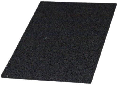 T.I.P. Aktivkohle Filtermatte PAK 45/32 Schwarz, Filterschwamm, 45 x 31,5 x 1,9 cm