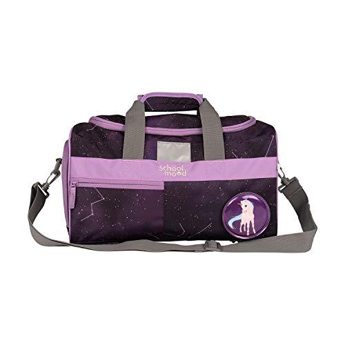 Sporttasche für Mädchen und Jungen - Schultertasche, Schwimmtasche, Reisetasche (Stella (Einhorn))