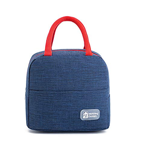 Tote Cooler Lunch Bag Bolsas de Comida con Aislamiento térmico Bolsa de Almuerzo portátil para Picnic para Hombres,Mujeres y niños