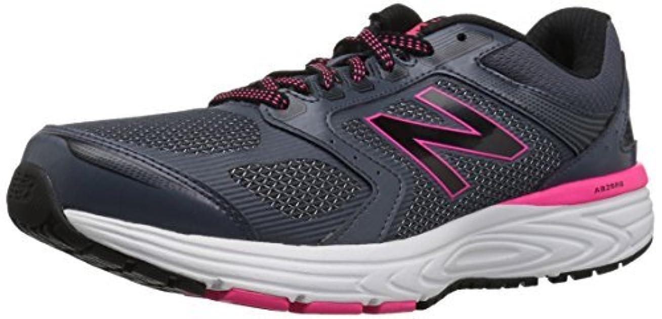 侵略神経障害ソーセージNew Balance Women's W560v7 Cushioning Running Shoe Grey/Black 5.5 D US [並行輸入品]