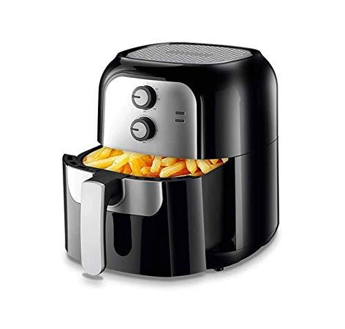 SMSOM Air Fryer 1400 W 6,0 L elektrische hetelucht XL Air friteuse zonder olie antiaanbakoven W/accessoires voor frituren, braden, grillen, koken
