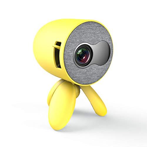 Mini projector, ondersteunen dezelfde screen mobiele telefoon 1080P HD HDMI USB projector videospeler kinderen gift,2