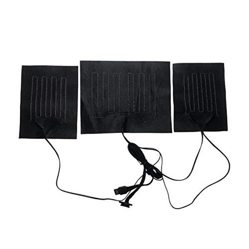 Heizkissen Elektrisch, Heizkissen Rücken, Heizkissen Nacken Schulter, Kleidung Heizkissen, USB-Heizkissen, 3...