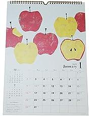 クローズピン 2022年 カレンダー 壁掛 A3 Tomoko Hayashi 旬果 アップル CL95585