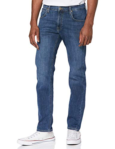 Lee Herren Daren Zip Fly Jeans, Clean Cody, 34W / 32L