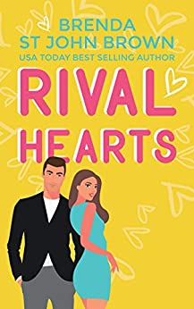 Rival Hearts: A feel-good enemies-to-lovers romance set in a cozy English village (Love on Tap Book 1) by [Brenda St John Brown]